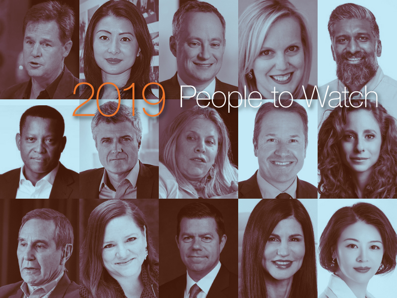 2019 Forecast: 15 People To Watch