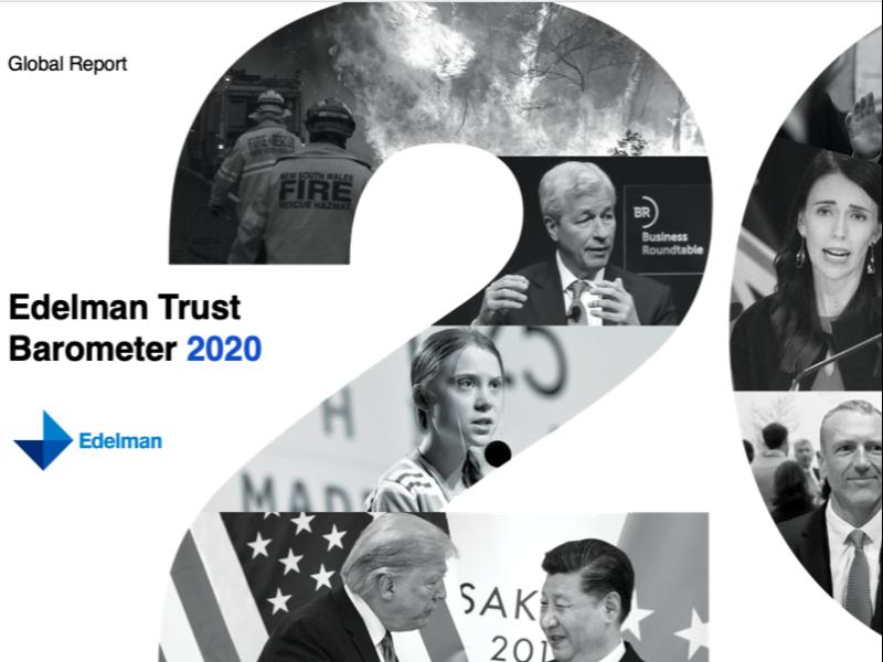 2020 Trust Barometer: Growing Inequality Eroding Trust, Hope
