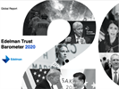 2020 Trust Barometer: Growing Inequality Eroding Trust, Hope