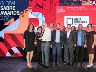 Weber Shandwick Wins Global Agency Of The Year After 2017 Clean Sweep
