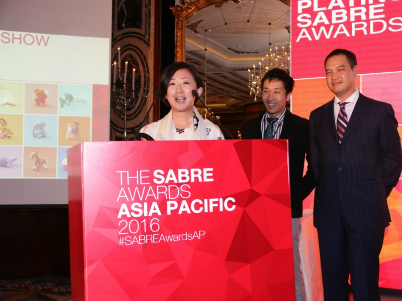 Dentsu Wins Best Of Show At 2016 Asia-Pacific SABRE Awards