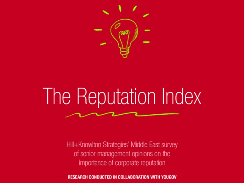 Middle East C-Suite Execs Link Corporate Reputation To Business Success