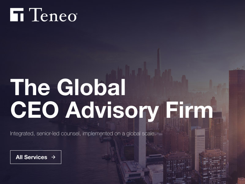 Teneo Sells Majority Stake To Private Equity Firm