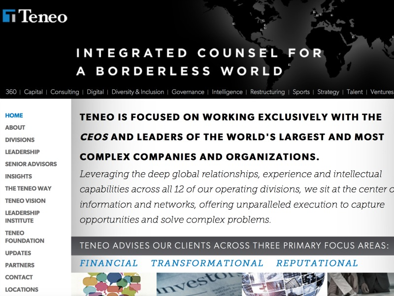 Teneo Acquires Brussels Firm Cabinet DN