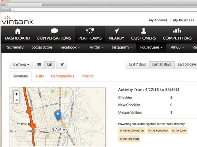 W2O Buys Geo-Fencing Platform VinTank
