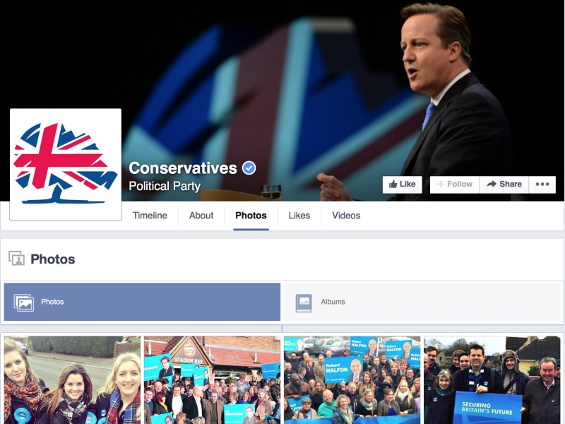 The Tories' Strange Facebook Strategy