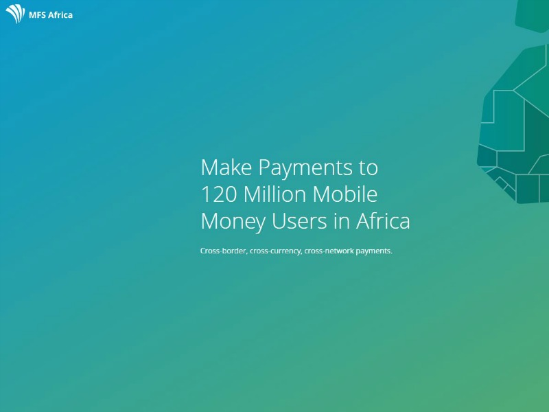 Mobile Payment Platform MFS Africa Taps CCgroup For EMEA PR Duties