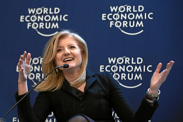 Arianna Huffington: 'Business can be a force for good'