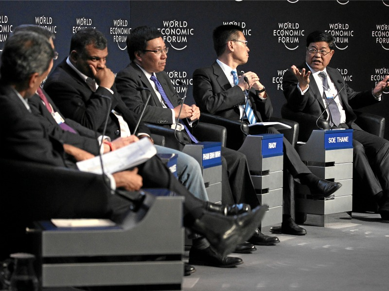 Asia In 'The New Global Context' At Davos