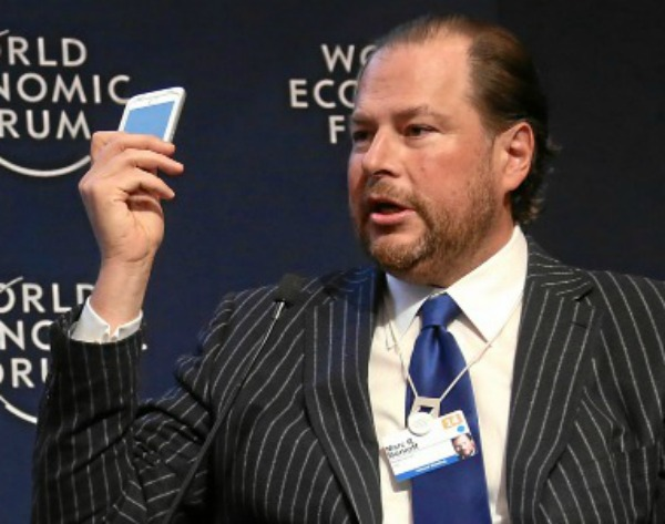 Tech Companies Should Boost Data Transparency, Says Salesforce CEO