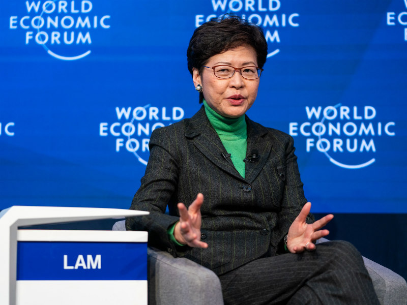 "Carrie Lam Blames ""Obsolete PR Machinery"" & ""World Class Propaganda"" For Hong Kong Unrest"