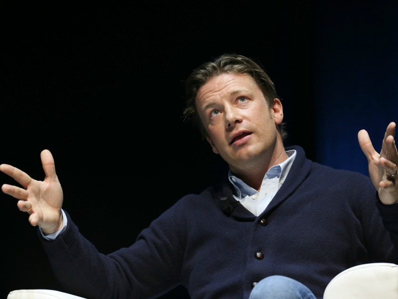 Trust Is Vital When New Just Isn't Enough, Jamie Oliver Tells Cannes