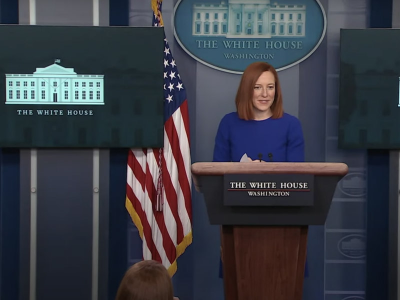 With Jen Psaki At The Podium, Brand America Eyes Radical Return To Normalcy