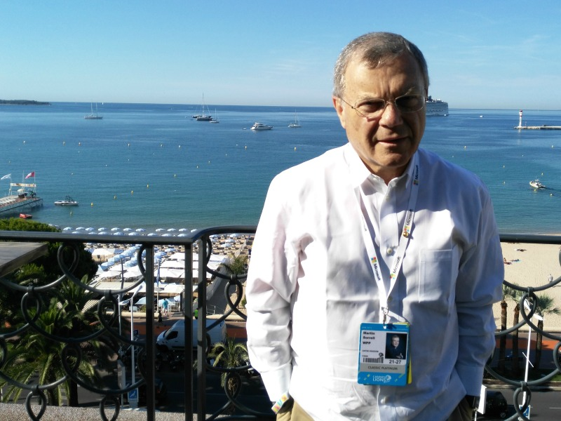 Data, Content And Creativity: Martin Sorrell On How PR Firms Become More 'Relevant'