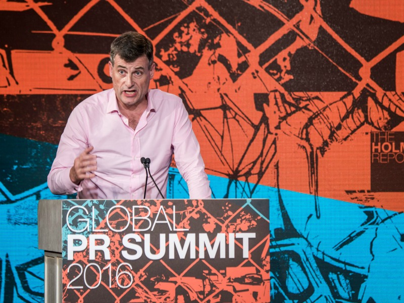 PRovoke16: Verizon Chief Ronan Dunne's Public Relations Lessons