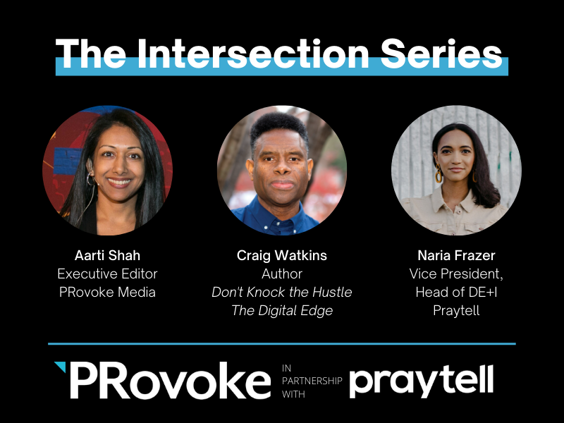 Intersection Series: Author Craig Watkins on Creative Hustle & the Technology Revolution