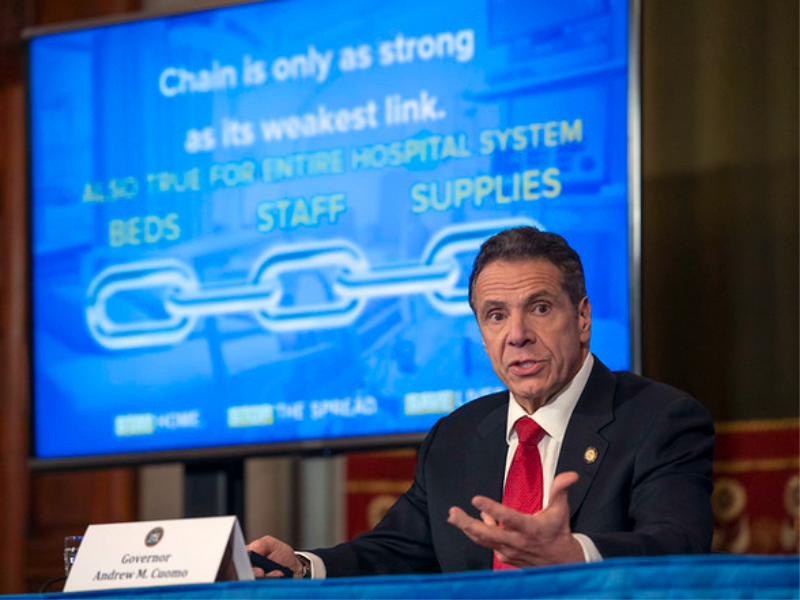 Communicating In A Pandemic: Andrew Cuomo's Keys To Success
