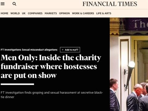 WPP Withdraws Support For Charity Fundraiser After Undercover Report