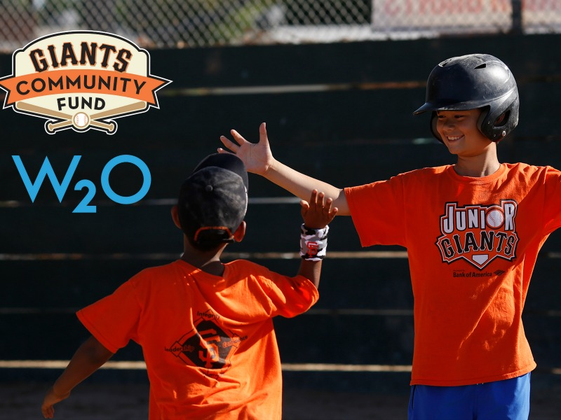 W2O Tapped To Help Giants Community Fund Reach More Kids