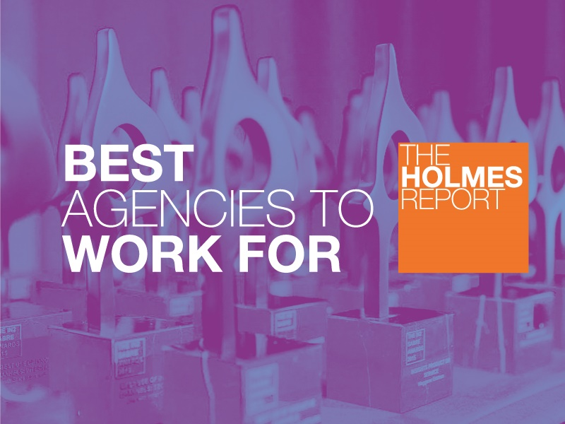 Holmes Report Reveals North America Best Agencies to Work For Top 5 Rankings
