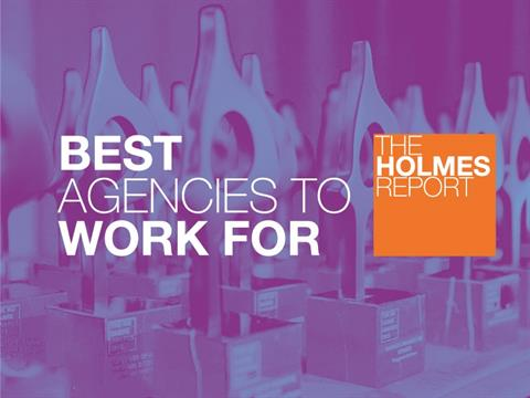Holmes Report Reveals EMEA Best Agencies to Work For Top Rankings