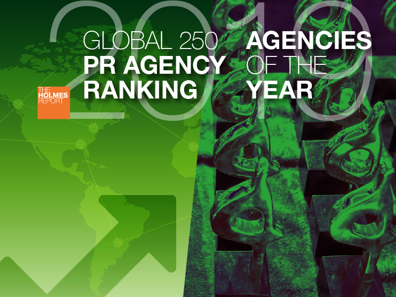 Extended To 10 March: 2019 Global PR Rankings And Agencies Of The Year