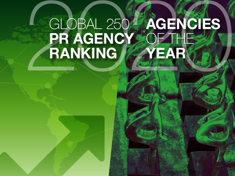 Extended To 6 March: 2020 Global PR Rankings And Agencies Of The Year