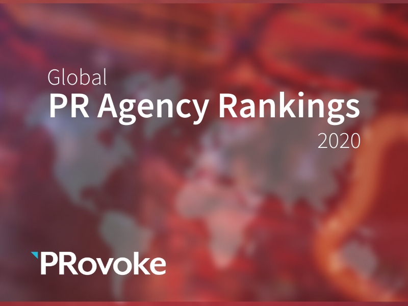 2020 Global PR Agency Rankings: Top 250