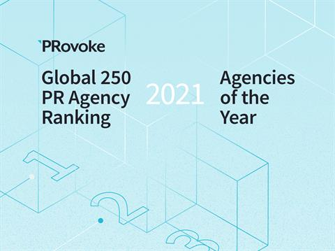 Extended To 5 March: 2021 Global PR Rankings & Agencies Of The Year