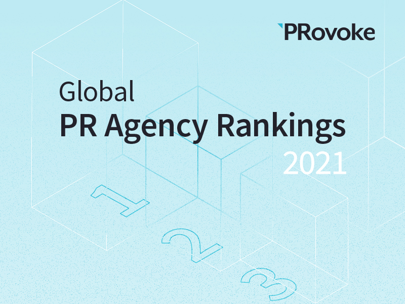 2021 Agency Rankings: Resilient Global PR Industry Declines 4% Amid Covid-19 Pandemic