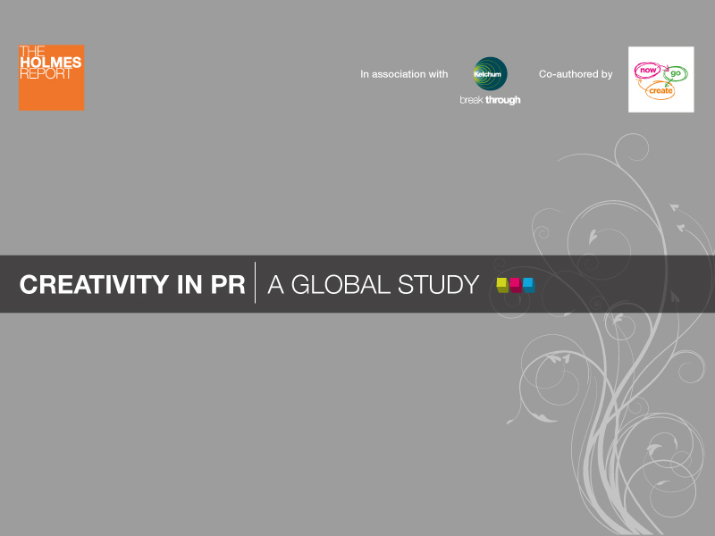 Creativity In PR: What Drives Great Work?