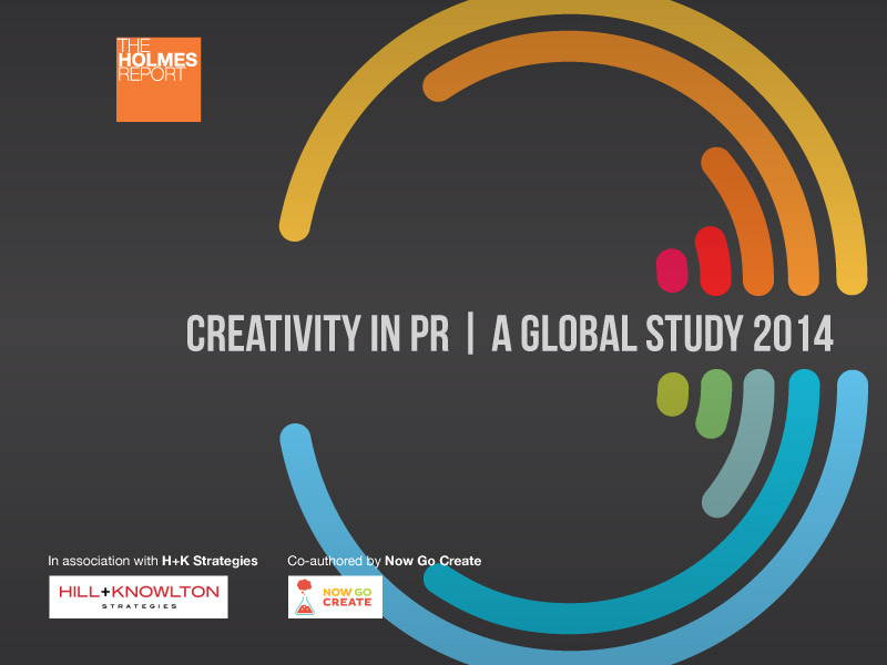 2014 Study: Creativity In PR On The Rise Despite Client Concerns