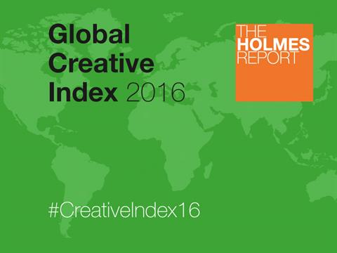 Edelman And Unity Top 2016 Global Creative Index