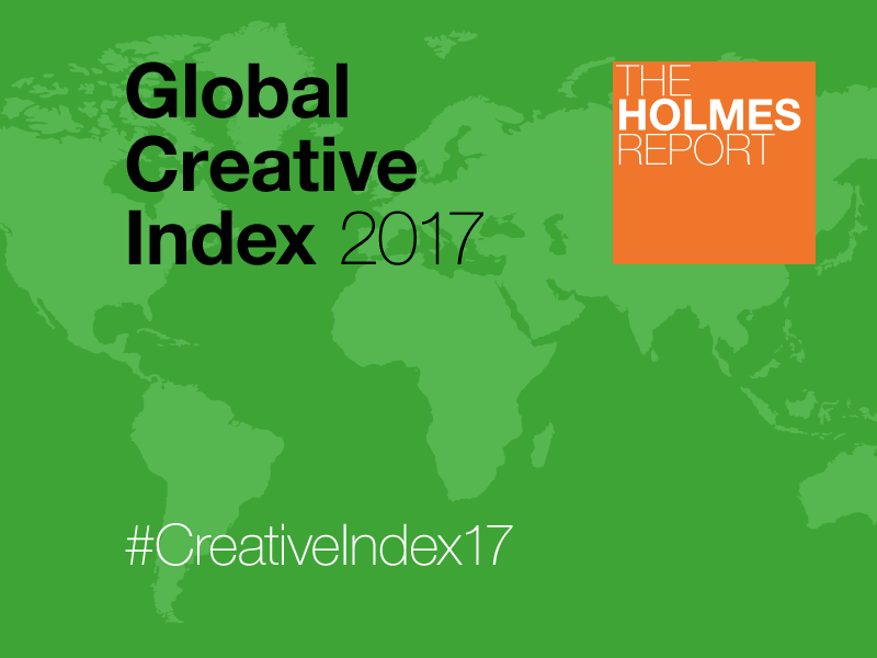 Weber Shandwick And Tin Man Top 2017 Global Creative Index