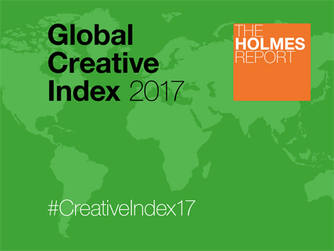 Weber Shandwick And Tin Man Top 2017 Global Creative Index