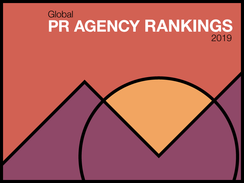 2019 Agency Rankings: Global PR Industry Growth Holds Steady At 5%
