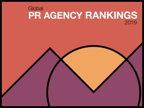 2019 Global PR Agency Rankings: Fast Movers