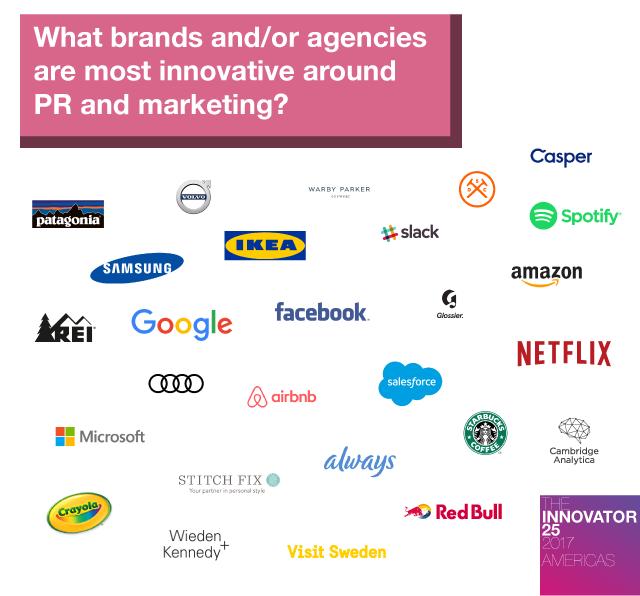 Innovator 25 Americas - Brands