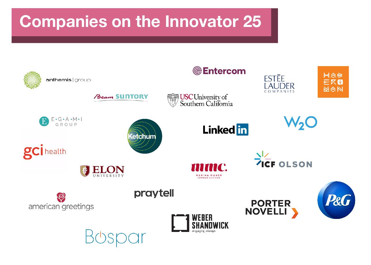 Innovator 25 Americas Companies
