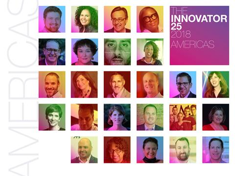 Innovator 25 2018: The Change Agents in the Americas