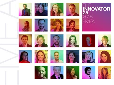 Innovator 25 2018: Who's Reshaping Influence & Engagement In EMEA?