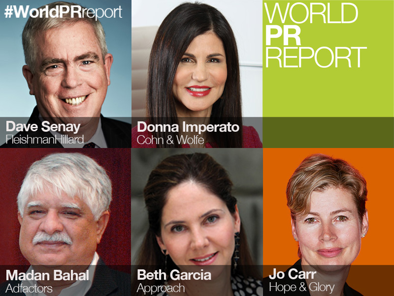 World PR Report: The CEO View