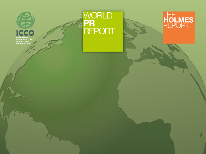 World PR Report 2015: Holding Groups/Networks