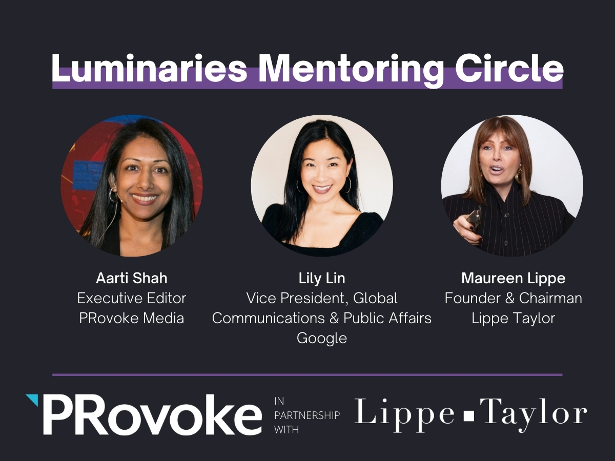 Luminaries: Lily Lin, Maureen Lippe on Mentoring & Leadership