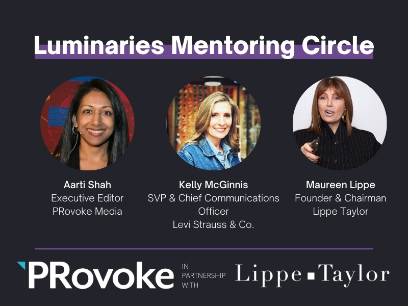 Luminaries: Kelly McGinnis, Maureen Lippe on Mentoring & Leadership