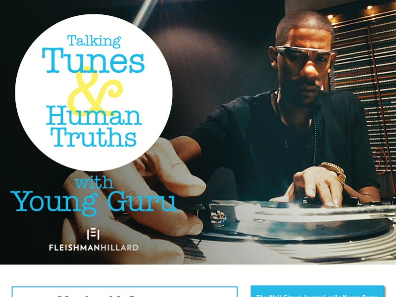 Cannes: Young Guru & FleishmanHillard To Explore How Music Drives Marketing