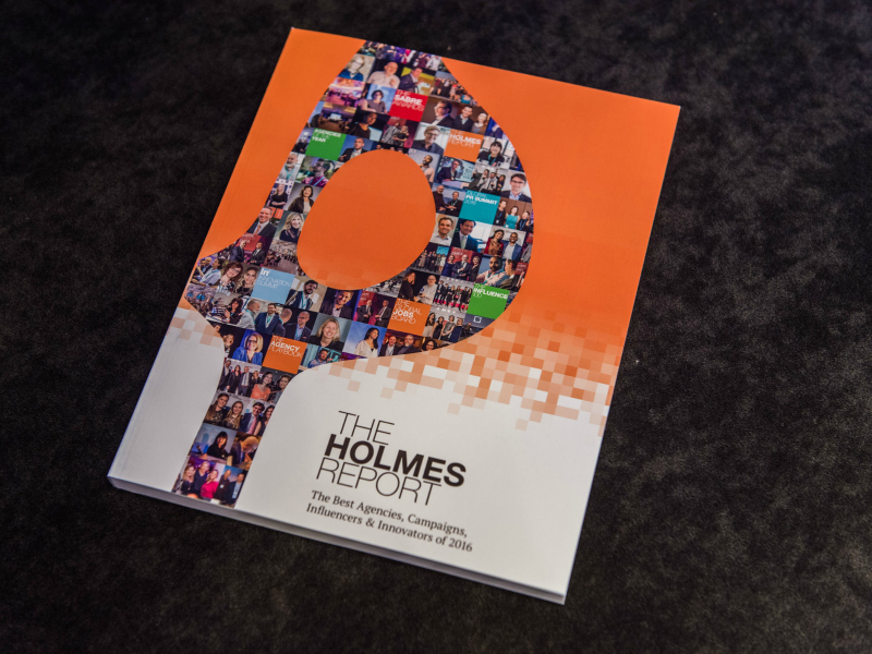 The Holmes Report 2016 Book Now Available