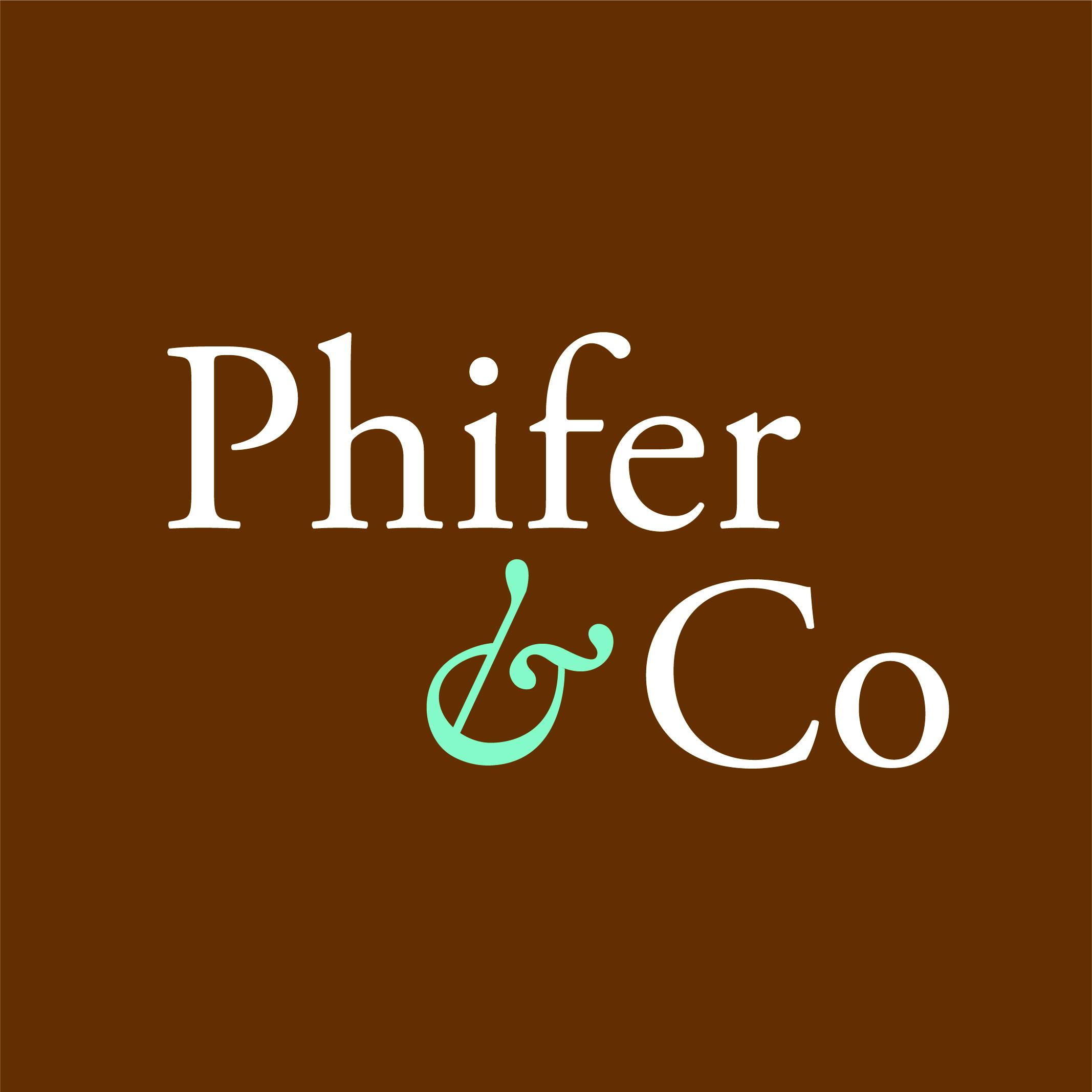 Phifer & Company Logo for Holmes