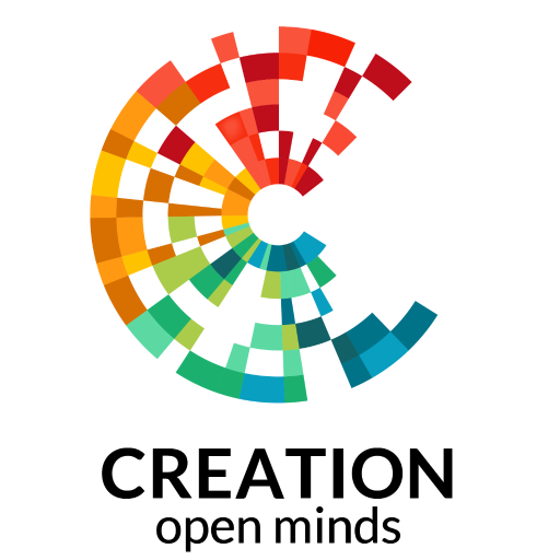 Creation logo colour lock up