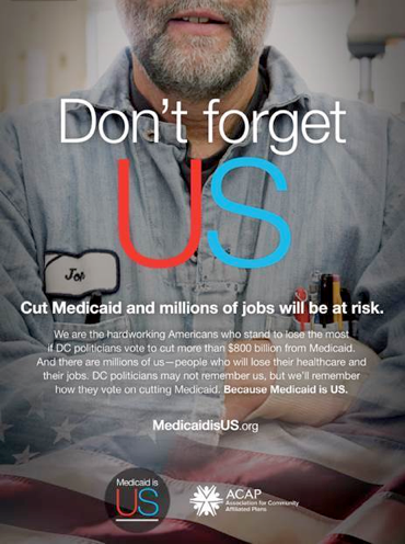 Qorvis MSL Launches 'Medicaid Is US' Campaign As Senate Takes Up Legislation